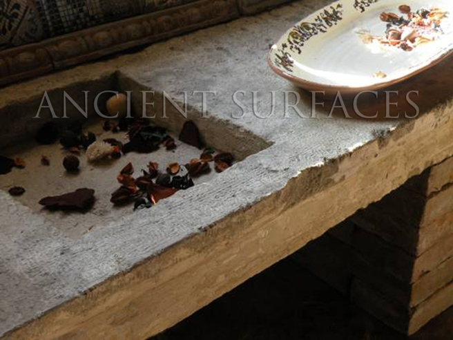 Antique Reclaimed Limestone Sink by Ancient Surfaces-3