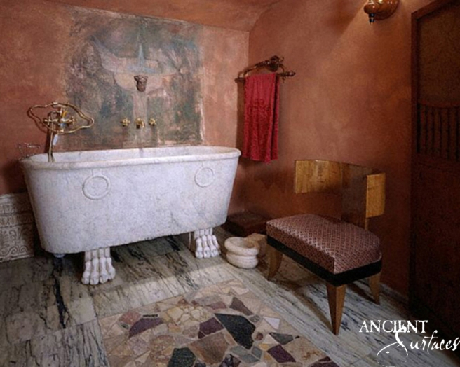 Bathroom Giannini Luzzatti's personel home